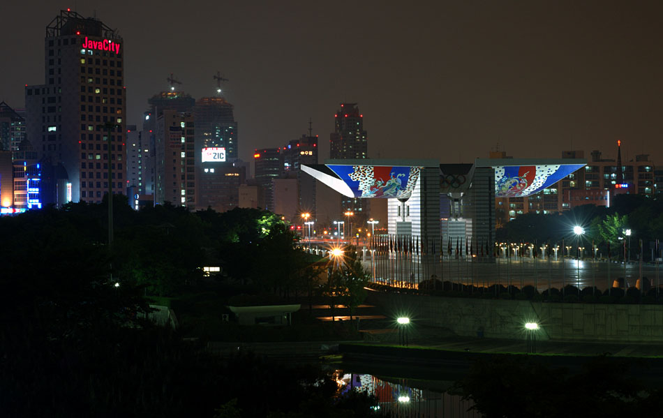 Album,Korea,Seoul,Olympic,Park,2,Night,View,3,shafir,photo,image