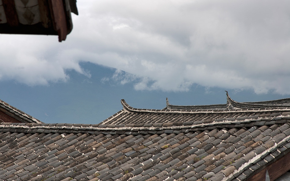 Album,China,Yunnan,Lijiang,Roofs,shafir,photo,image