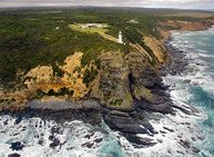 Album / Australia / Great Ocean Road / Views from Plane / Cape Otway Lighthouse