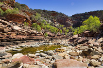 Album / Australia / Kalbarri National Park / Z-Bend Gorge 1