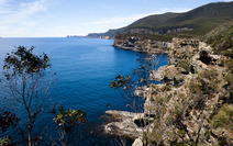 Album / Australia / Tasmania / Tasman Coastal Trail / Waterfall Bay 1