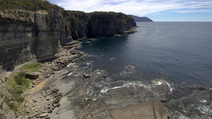 Album / Australia / Tasmania / Tasman Coastal Trail / Waterfall Bay 2