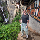 Album / Bhutan / Hike to the Tiger's Nest / It's me