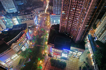 Album / China / Chongqing / Shapingba / Sanxia square / Night view 1