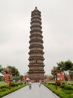 Album / China / Kaifeng / Youguo Temple / Iron Pagoda 1