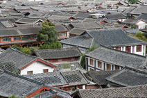 Album / China / Yunnan / Lijiang / Roofs 2