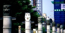 Album / Korea / Seoul / Olympic Park / Korean Masks 3
