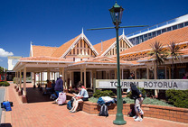 Album / New Zealand / Rotorua / Tourist Center