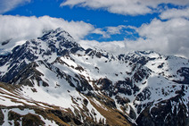 Album / New Zealand / Tramping / Arthur's Pass / Goldney Glacier