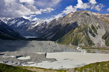 Album / New Zealand / Tramping / Mt Cook / Glacier