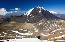 Album / New Zealand / Tramping / Tongariro / Mt. Ngauruhoe and Mt. Ruapehu