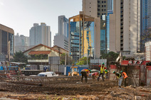 Album / Panama / Panama City / Construction workers