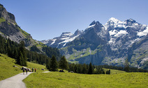 Album / Switzerland / Alpine Pass Route / Kandersteg 2