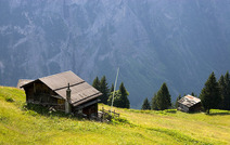 Album / Switzerland / Alpine Pass Route / Murren 1