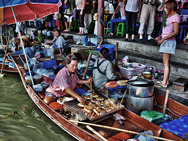 Album / Thailand / Ratchaburi / Floating Market / Floating Market 4
