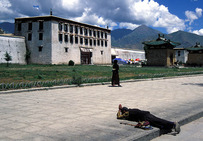 Album / Tibet / Lhasa / Potala / Prayer