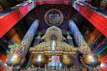 Album / Tibet / Shigatse / Tashilhunpo Monastery / The Great Courtyard / The Great Courtyard 1