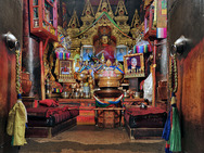 Album / Tibet / Shigatse / Tashilhunpo Monastery / The Main Chanting Hall / The Main Chanting Hall 10