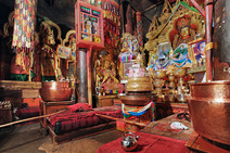Album / Tibet / Shigatse / Tashilhunpo Monastery / The Main Chanting Hall / The Main Chanting Hall 12