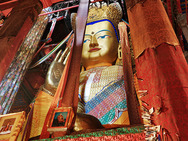 Album / Tibet / Shigatse / Tashilhunpo Monastery / The Maitreya Temple / The Maitreya Temple 4