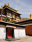 Album / Tibet / Shigatse / Tashilhunpo Monastery / The Stupa-tomb of the Tenth Panchen Lama / The Stupa-tomb of the Tenth Panchen Lama 1