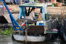 Album / Vietnam / Mekong delta / Cai Be Floating Market 4