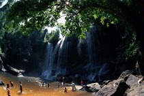 Journal / Cambodia / Phnom Kulem / Waterfall